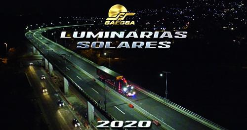 Luminarias Solares para alumbrado público en Sonora
