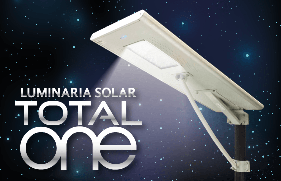 Luminaria Solar Led Total One SAECSA